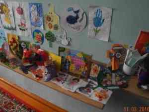 Выставка работ воспитанников КЦ