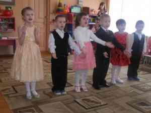 Выступление детей