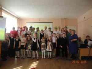 Учащиеся и педагоги Павлодарской школы