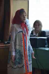 Участница концертной программы Неверова Вера