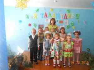 Фестиваль Я талантлив в Березовском детском саду